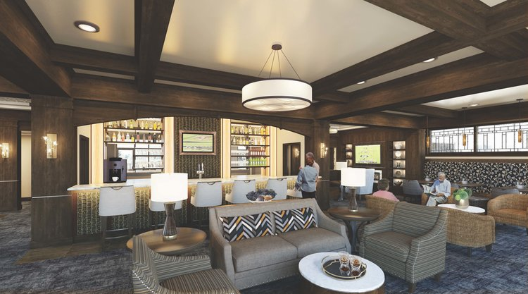 Senior Living Lounge