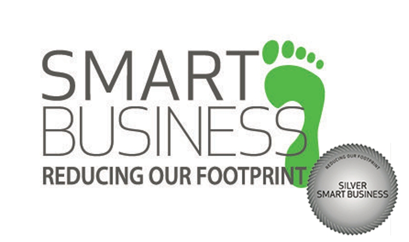 Smart Business - Reducing Our Footpring - Silver Smart Business Award