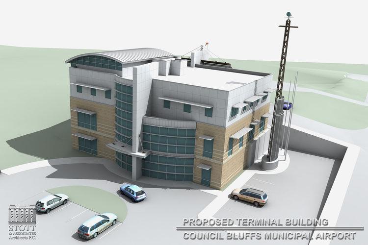 Council Bluffs Airport Terminal