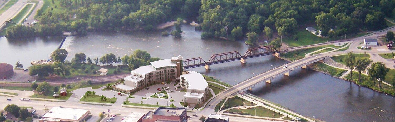 Riverview Gardens Aerial Edit