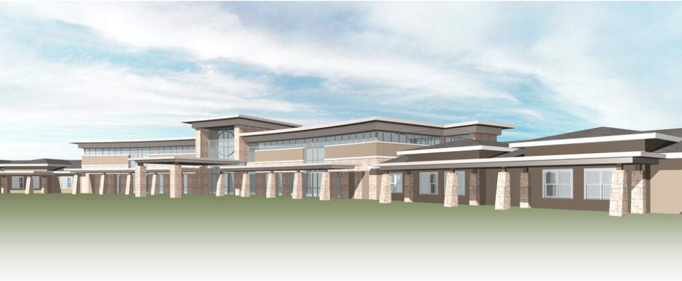 Suites of Waukee - Building Front Perspective