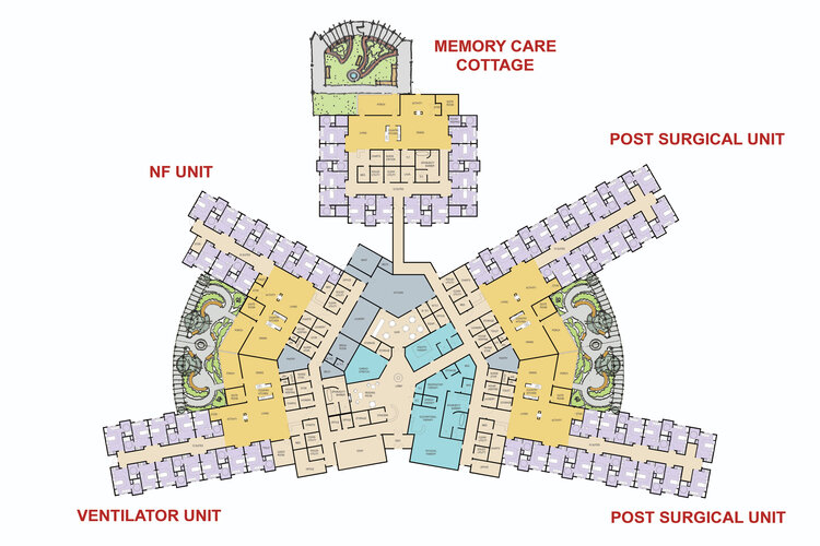 Suites of Waukee Senior Living - Building Map